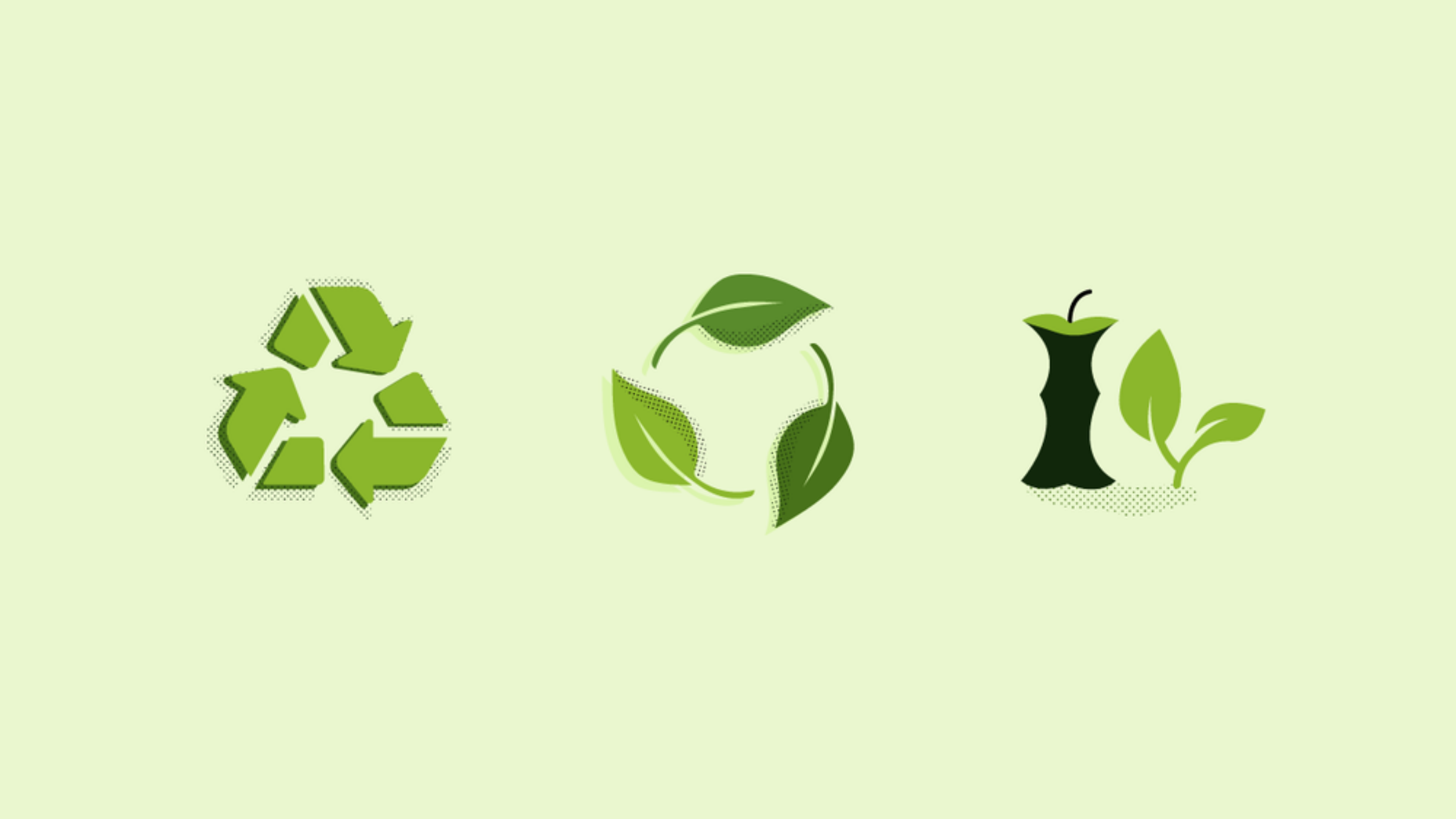Difference between Composting, Biodegradability and Recyclability