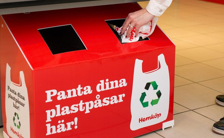 Sweden's bottle deposit system which leads to a record number of cans and bottles getting recycled every year