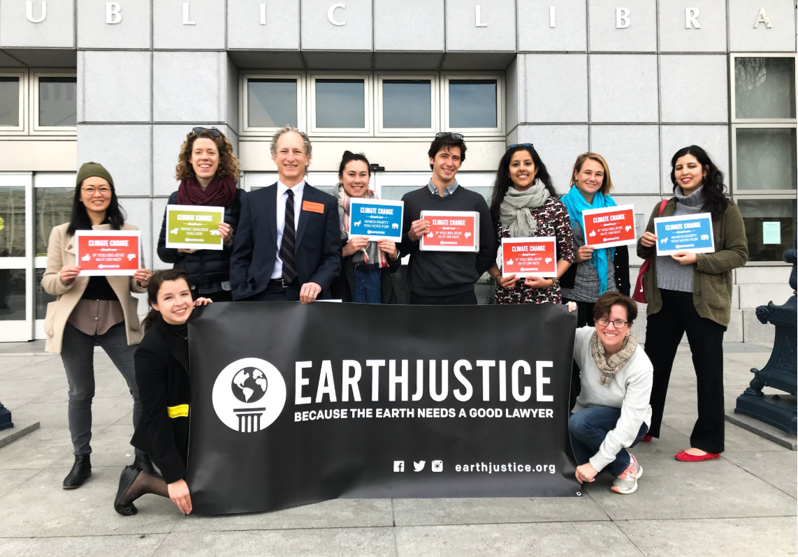 Earth Justice, an environmental non-profit