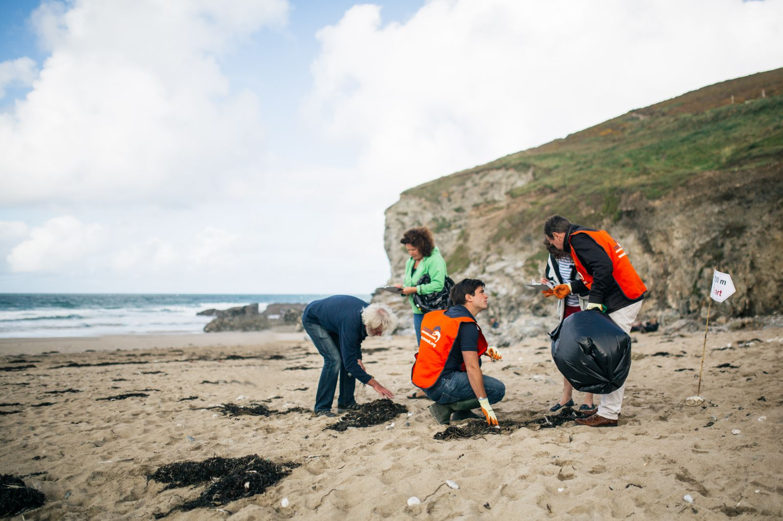 The Great British Sea Clean, one of the biggest its successful beach cleanups