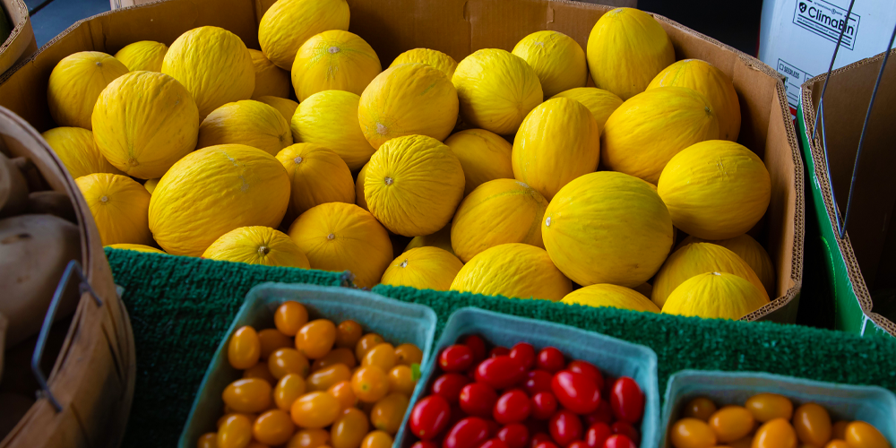 Fruits in no waste packaging