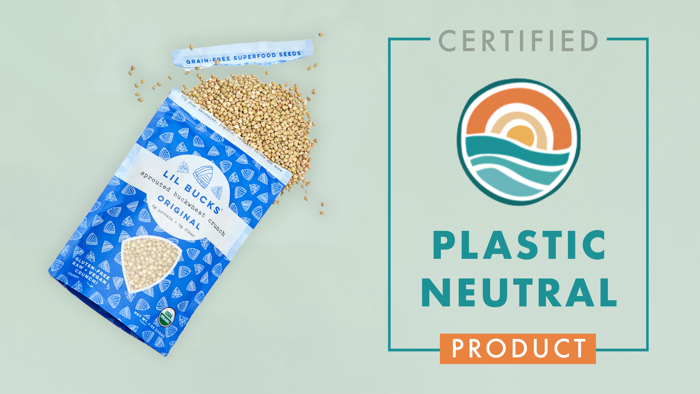 Lil Bucks is Officially Certified Plastic Neutral!
